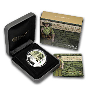 2012 1 oz Silver Australian Battle of Kokoda Proof